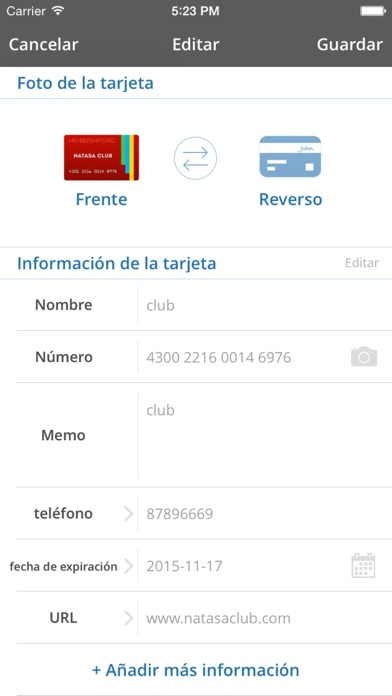 Screenshot for Card Mate Pro in Dominican Republic App Store