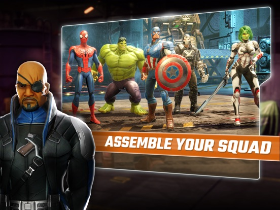MARVEL Strike Force: Squad RPG screenshot 6