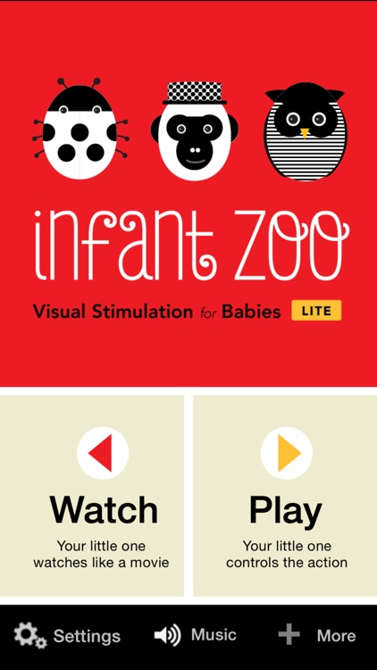 Infant Zoo LITE: Visual Stimulation for Babies