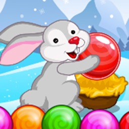 Rabit Bubble Pop - Shoot bubble, free bubble games and bubble shooter!