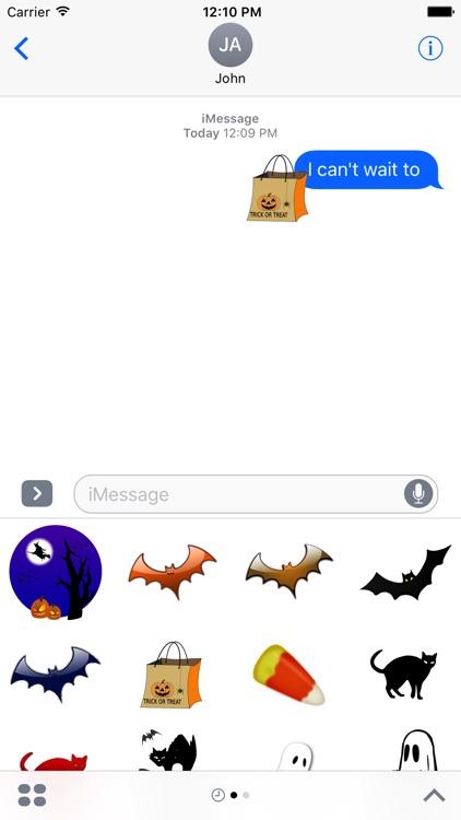 Halloween 2016 Stickers