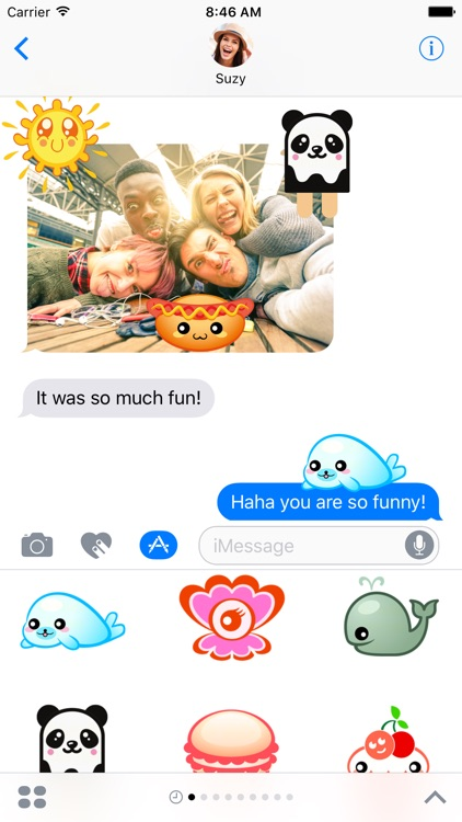 Kawaii Stickers - Cute Anime Emoji for iMessage