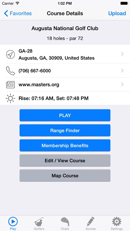 Golf GPS Rangefinder Scorecard screenshot-4