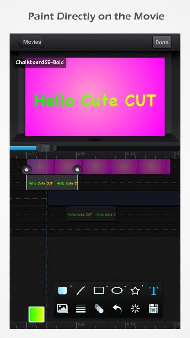 Screenshot for Cute CUT Pro in Switzerland App Store