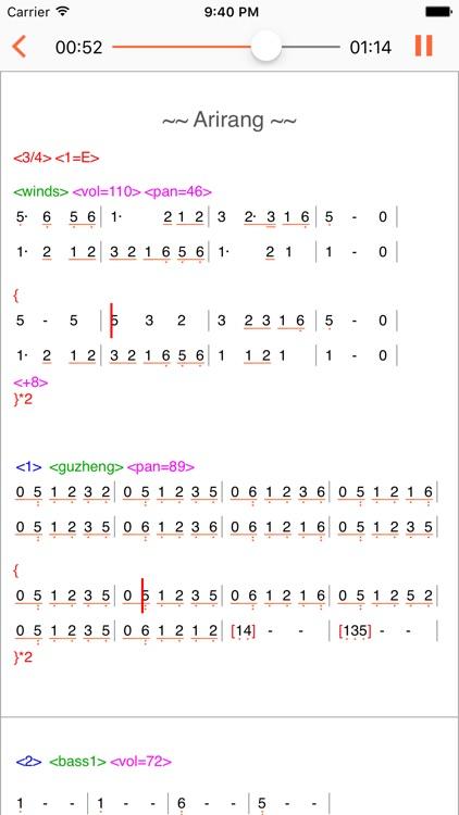 TextMusic screenshot-3