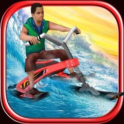 Surfing Bike Rally - 3D Jet Ski Stunt Racing Game