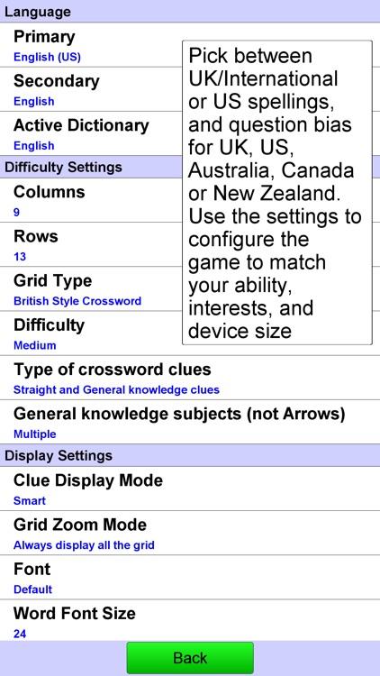 Crossword Unlimited screenshot-3