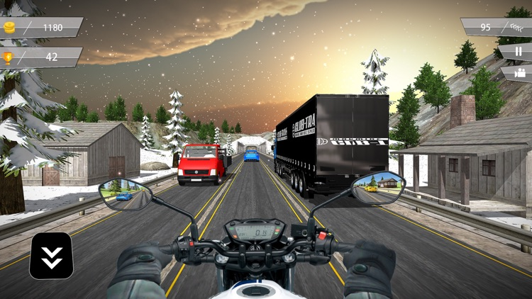 Highway Motorbike Traffic Rider 3D