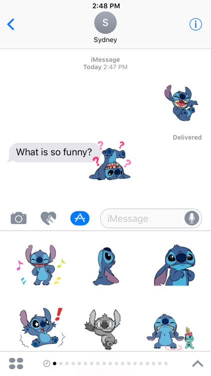 Disney Stickers: Stitch screenshot-4