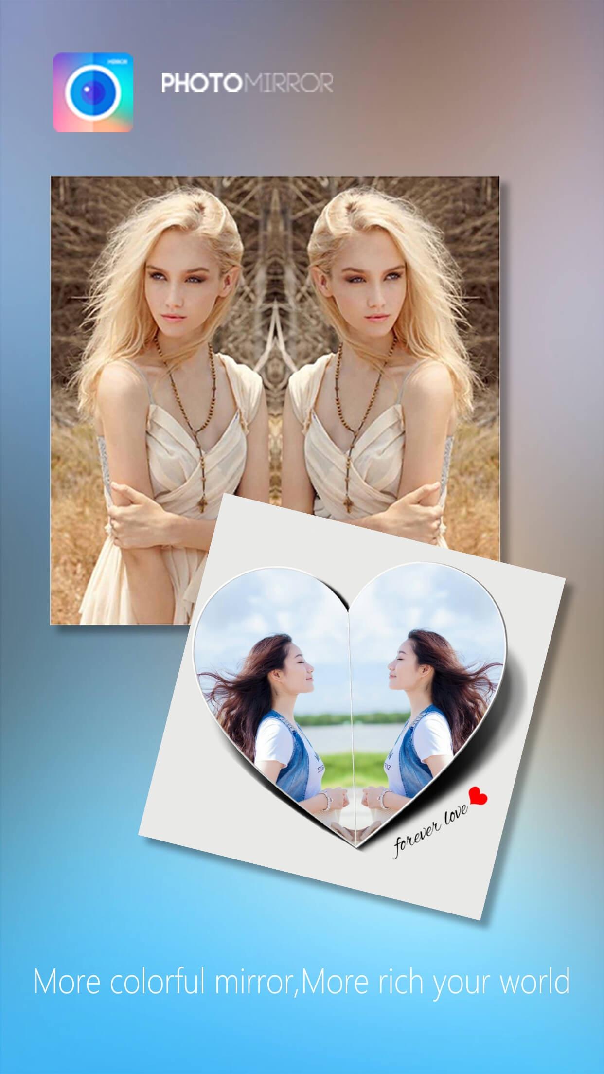 Photo Mirror Collage Maker Pro Screenshot