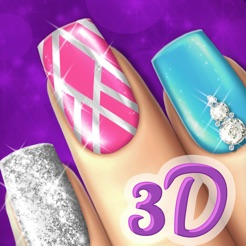 Beauty nail design games cute art makeover salon on the app store beauty nail design games cute art makeover salon 4 solutioingenieria Image collections
