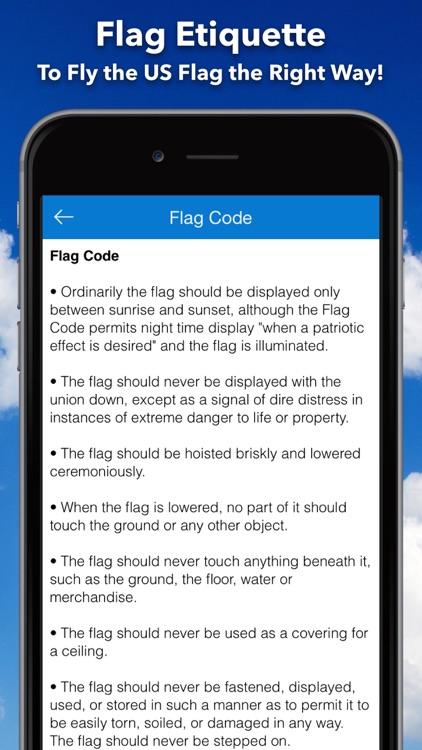 Flag Day - Get Alerts on US Half & Full Staff Days screenshot-4