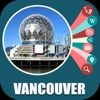 Vancouver Canada Travel Map - iPhoneアプリ