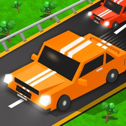 Blocky Traffic Racer On Highway-Parking & Driving