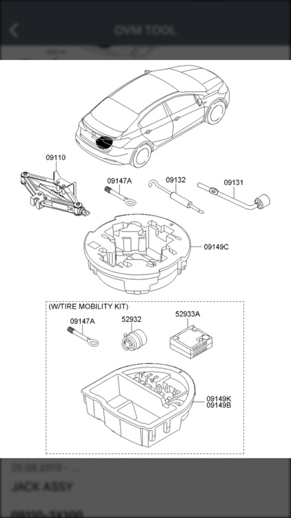 Kia Car Parts - ETK Parts Diagrams screenshot-3