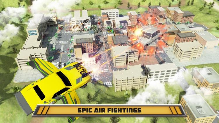 Robot War Car Transformation screenshot-3