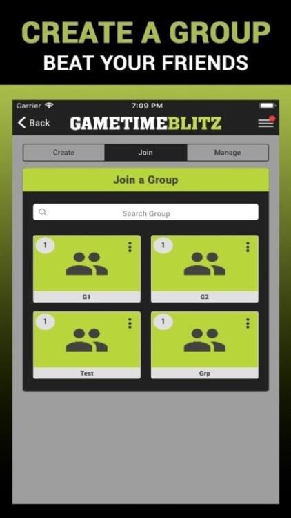 Gametime Blitz: Pick'em Game