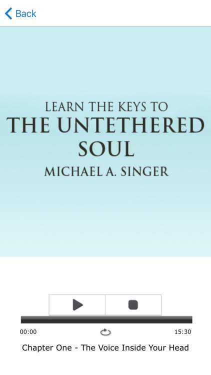 The Untethered Soul - Michael A Singer Meditations screenshot-3