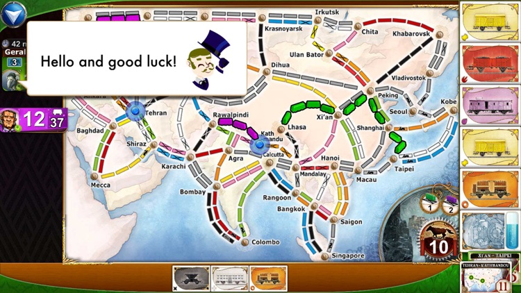 Ticket to Ride Pocket screenshot-4