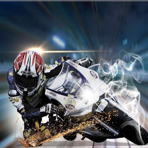 A Nitro Biker Race Ultra - Motorcycle Driving 3D Game