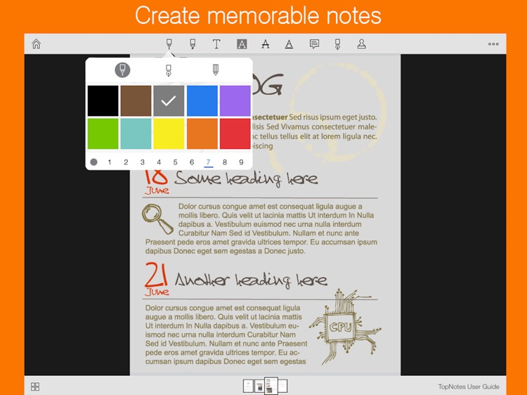 Notepad InkPad + : Handwriting, GoodNotes & PDFs screenshot-3