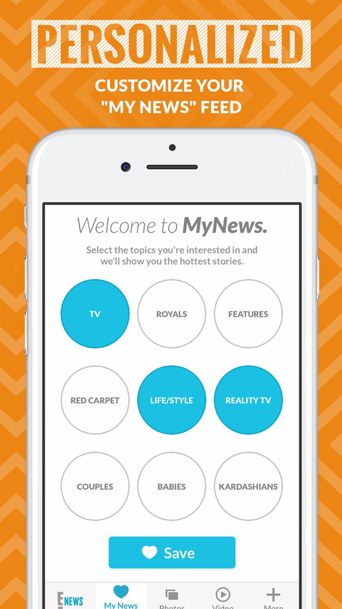 E! News Screenshot
