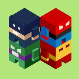 Geometry CubeCraft SuperHero TeamUp Survival Dash