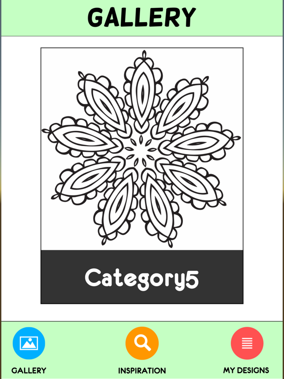 Coloring Book For Adults Pigment Pages Relaxation-ipad-1