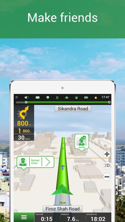 Navitel Navigator & MapMyIndia – India GPS & Map screenshot-3