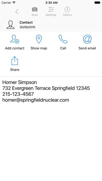 QR Code Reader & Barcode Scanner PRO Screenshot on iOS