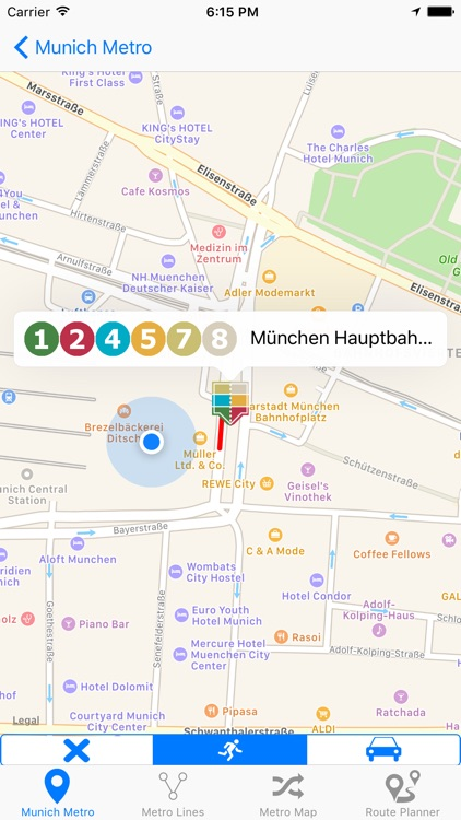 Munich iMetro screenshot-2
