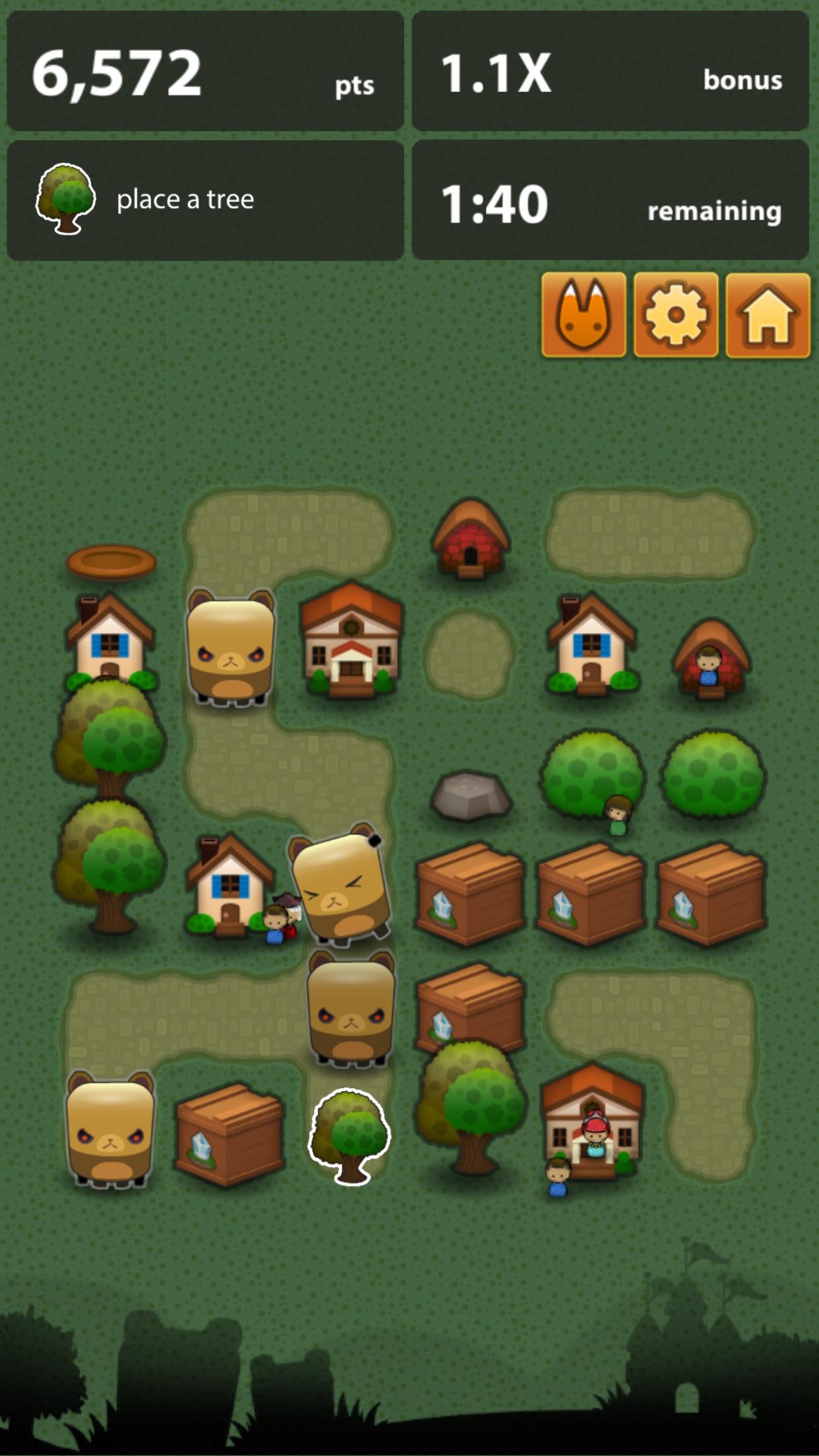 Triple Town - Fun & addictive puzzle matching game Screenshot