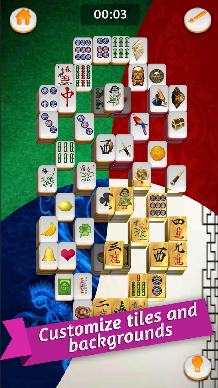 Mahjong Gold Solitaire Screenshot
