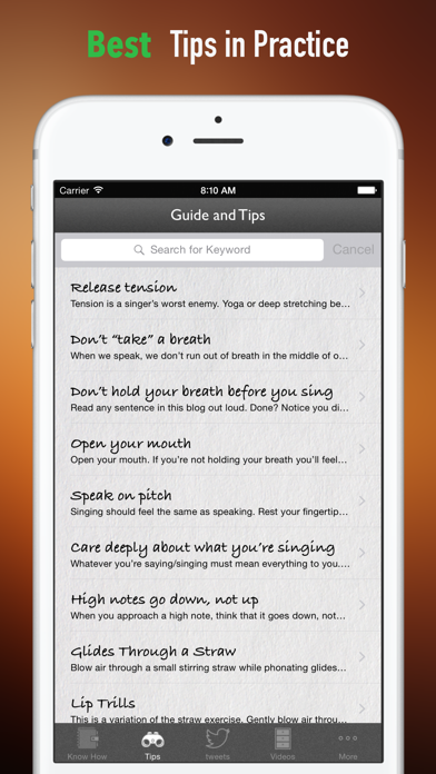 Singing Tips:New Approach and Sight Singing screenshot four