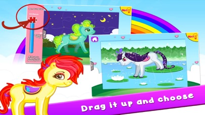 Pony Puzzles: Jigsaw Puzzles for Kids and Toddlers screenshot three