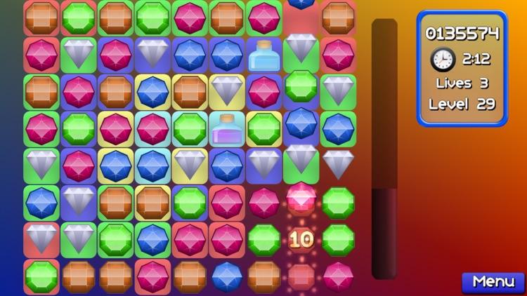 Jewel Match Jam : Pop and blast out 3 gems mania! screenshot-4