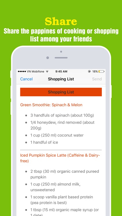 Super-Healthy Smoothie Recipes Pro screenshot-4