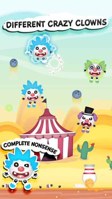 Clowny Rain - Endless Arcade Shooter screenshot three