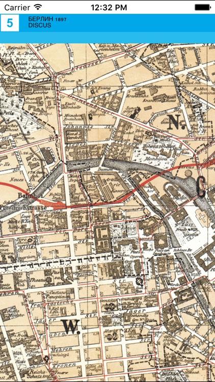 Berlin 1897. Historical Map. screenshot-3