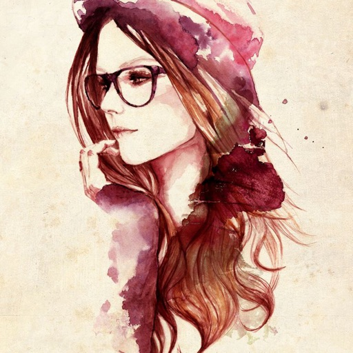Illustrations Girls Wallpapers HD- Quotes and Art
