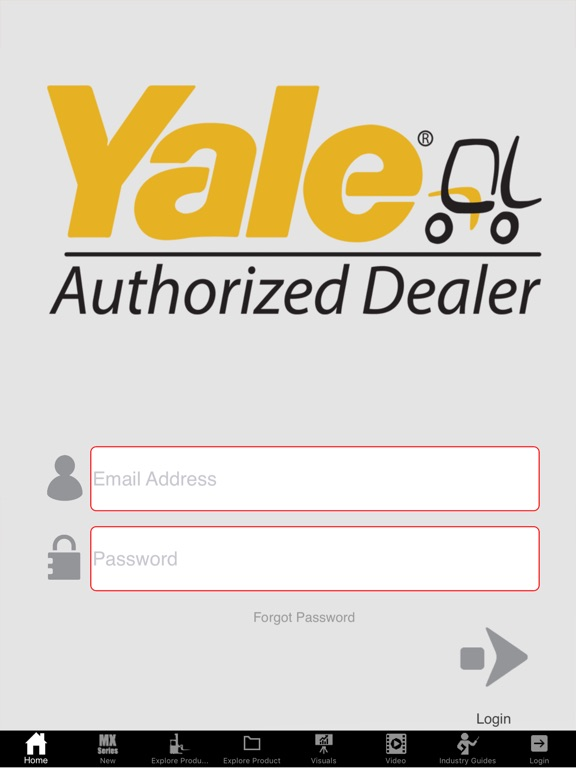 Yale Dealer North America-ipad-1