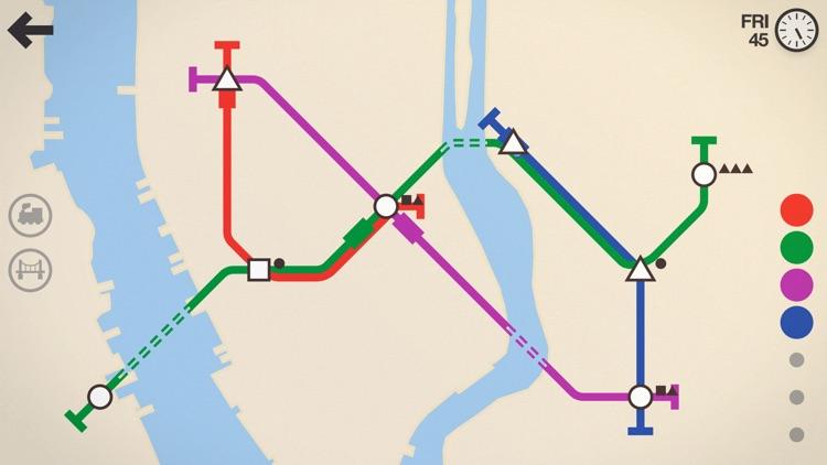 Mini Metro screenshot-0