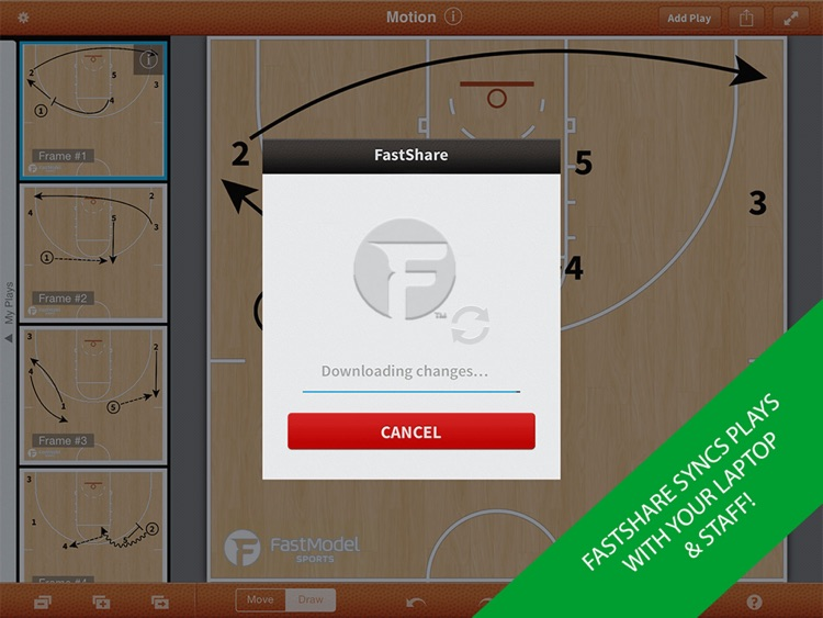 FastDraw Basketball Pro screenshot-0