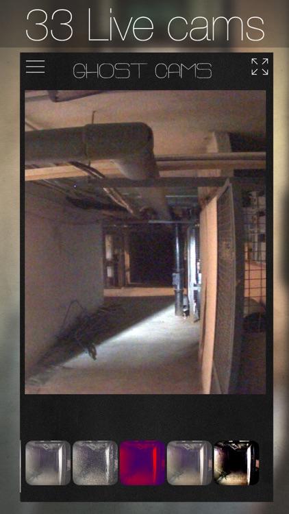 Ghost Cams: Live Paranormal Activity CCTV screenshot-0