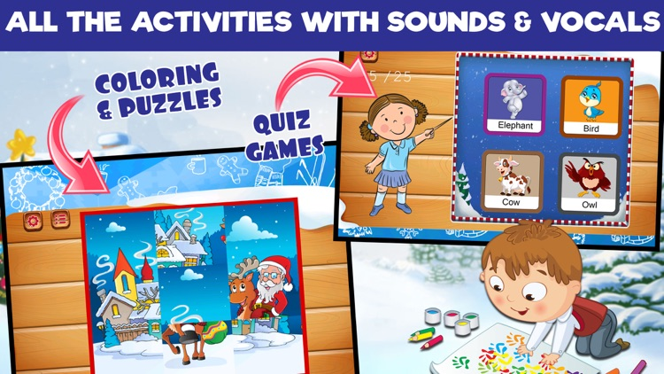 Preschool Learning Games - Christmas Edition screenshot-4