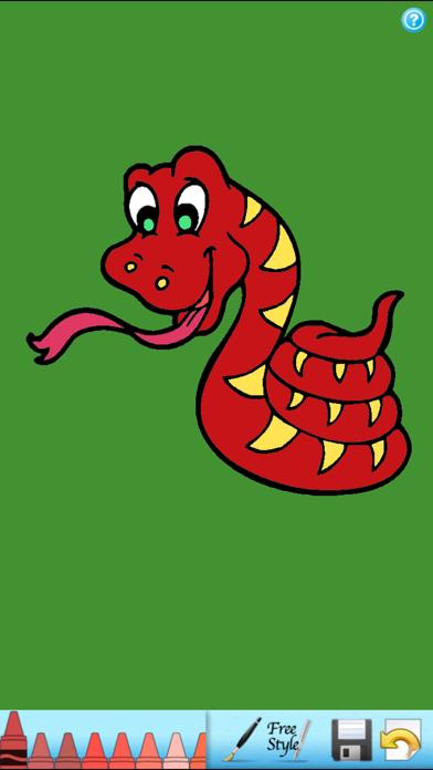 子供の塗り絵本!のおすすめ画像3