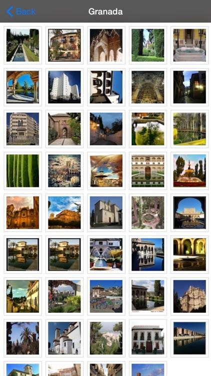 Granada Offline Map Travel Guide screenshot-4