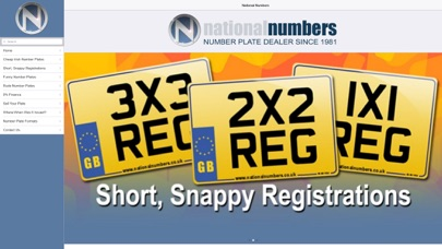 Number Plates screenshot one