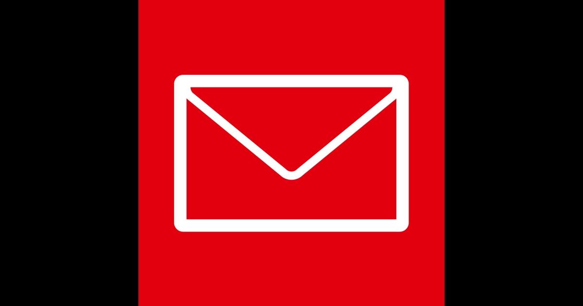 sfr mail l application de messagerie pour emails dans l app store. Black Bedroom Furniture Sets. Home Design Ideas