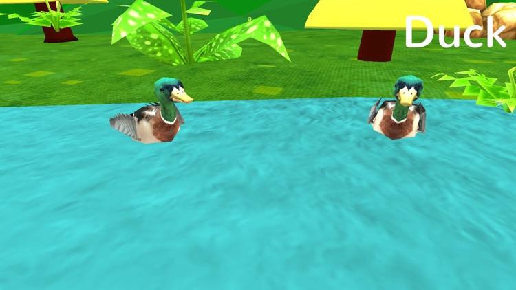Learn Animal Sounds: 3D Zoo Jungle Safari For Kids screenshot-3